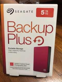 Seagate 5TB Portable Harddisk