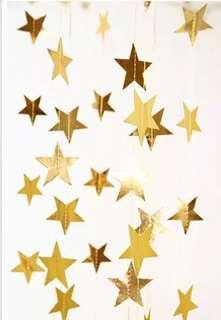 婚禮/派對candy corner星星佈置