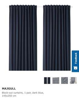 IKEA Black Out Curtain