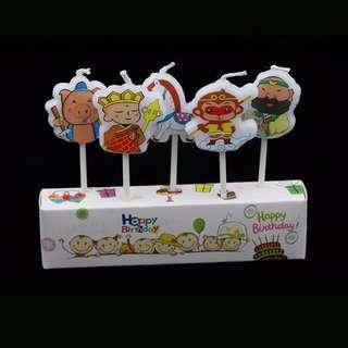 西遊記孫悟空造型蠟燭Birthday Candles