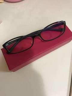 JiNS抗藍光眼鏡(冇度數)