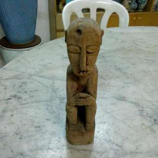 Wood Carving Sculpture Vintage 10