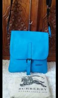 Burberry Blue Sling Bag