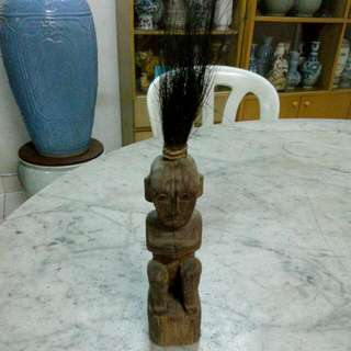Wood Carving Sculpture Vintage 11
