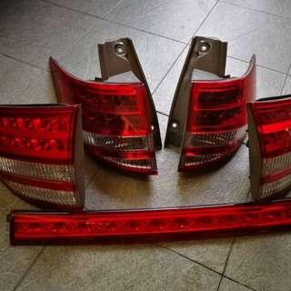 Toyota estima rear light /tail light