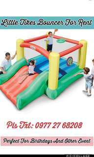 Little tikes bouncer for rent