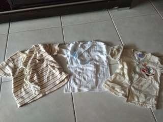 Newborn top baju bayi