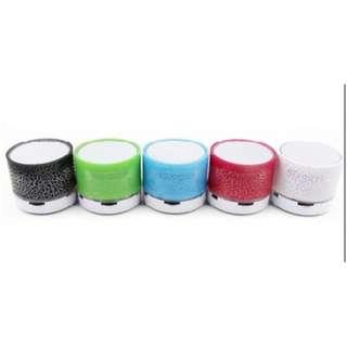 Mini Wireless Bluetooth Speaker W/Light
