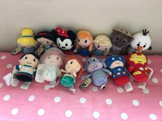Itty bitty plush hallmark Disney marvel