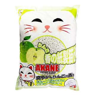 Akane Paper Sand Litter 7L From Japan