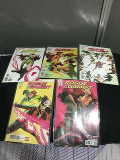 Marvel rogue and gambit 1-5 complete