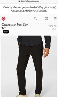 Lulu lemon pants