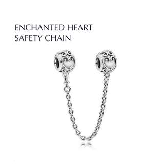 Bnis pandora ENCHANTED HEART SAFETY CHAIN