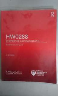 NTU HW0288 Coursebook