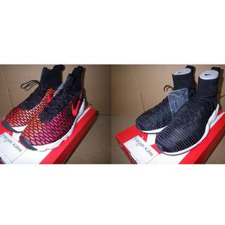 (組合出售)Brand new Nike Air Footscape Magista Flyknit 816560-002/Zoom Mercurial XI FK 844626-001