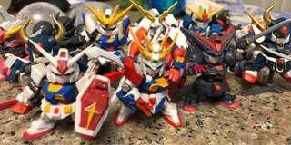 Sd高達扭蛋 Next/Forte/Warrior Dash