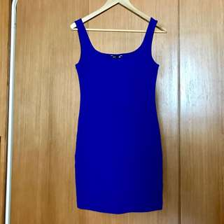 H&M blue tank dress #fashsale