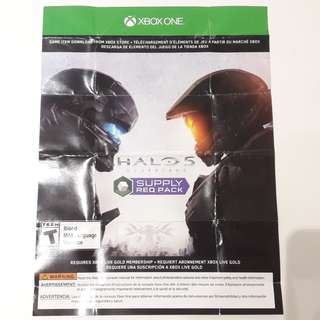 Halo 5 Supply Req Pack redeem code - Xbox One