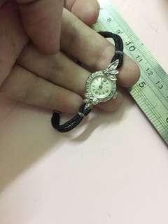 bulova 14k 钻石 手动上链