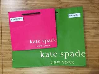 Kate Spade 紙袋