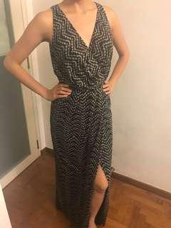Long Evening Maxi Dress