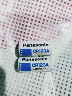 Baterai Panasonic Lithium CR 123 A