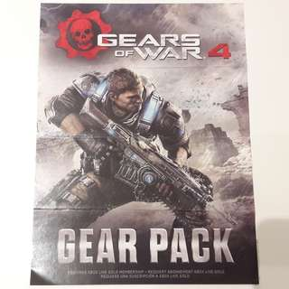 Gears of War 4 Gear Pack redeem code - Xbox One