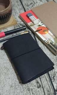 Travel's notebook 護照尺寸 黑色 9.5成新