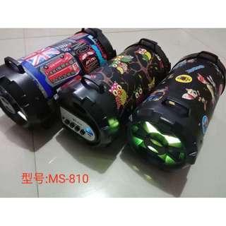 MS-810 3 Inch Wireless Bluetooth Speaker