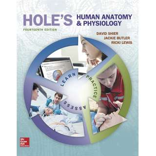 Hole's Human Anatomy & Physiology 14th Fourteenth Edition by David Shier, Jackie Butler, Ricki Lewis - McGraw-Hill Education