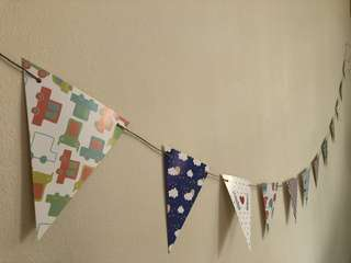 [INSTOCK] Birthday Party Flags