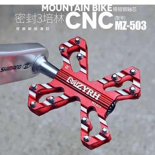自行車腳踏山地車公路鋁合金踏板