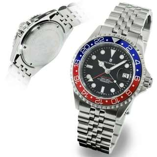STEINHART WATCH GMT-OCEAN 1 BLUE RED.2 103-0857