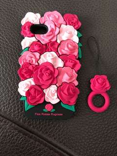 Iphone 7 floral case
