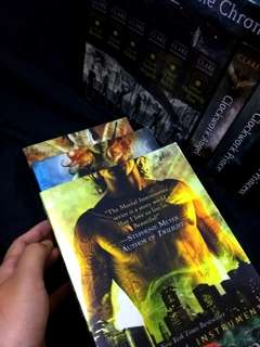 The Mortal Instruments City of Bones, City of Ashes, City of Glass by Cassandra Clare
