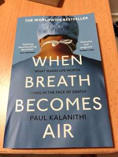 When Breath Becomes Air (Brand new) shipping from UK