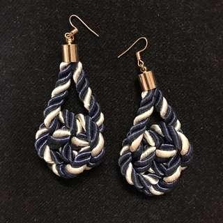 Nautical Rope Earrings