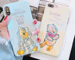 I phone 7/8 小熊維尼 Winnie the Pooh 手機殼 電話套 殻 case