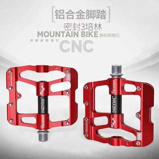 山地車腳踏板通用鋁合金軸承單車蹬子