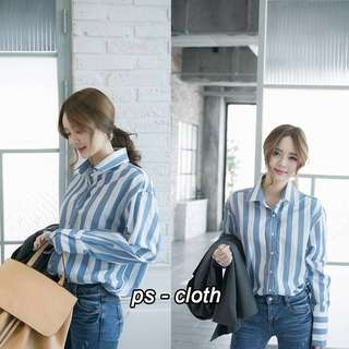 Striped Shirt work female