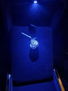 18k鑲鑽石吊咀