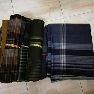 Men's checkered patterns sarong - Asst design #POST1111
