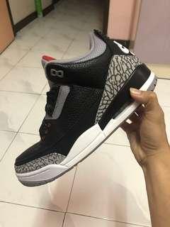 Nike Jordan Black Cement 3