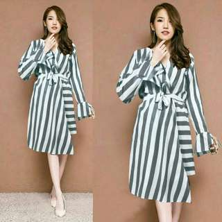 Stripe Dress fashion long