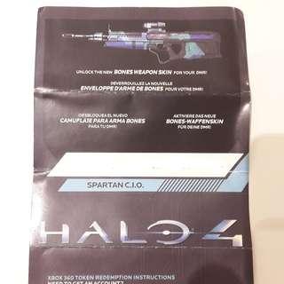 Halo 4 Bones Weapon Skin (DMR) - Xbox 360