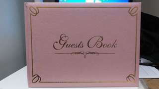 Guest Book (Free Postage)