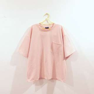 NEW Oversized Pink Top