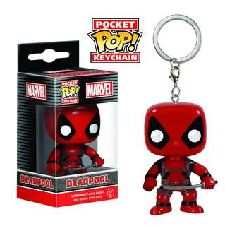 Marvel Funko Pop Deadpool Keyring Keychain