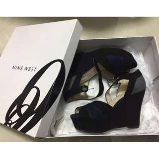 NINE WEST color-block wedge (bought in US)