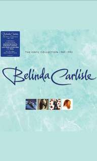 New Limited Edition Belinda Carlisle Vinyl LP Boxset